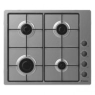Candy 60cm 4 Burner Lateral Gas Hob