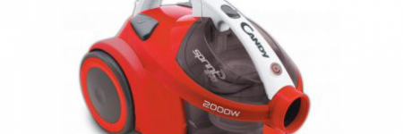 Candy Sprint EVO Bagless 2000W Red Vacuum Cleaner